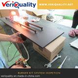 Brenner-Installationssatz-Systems-Qualitätskontrolle-Service, Brenner-Inspektion