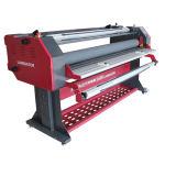 Appareil de film automatique Machine à stratifier à rouleaux industriels avec coupe Fuction 1600mm