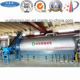 Nuovo tipo strumentazione di distillazione del pneumatico dello spreco per nero di carbonio