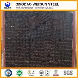 Q195 0.8mmの厚さGB Satandard 6mの長さの穏やかな鋼鉄正方形の管