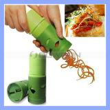 Frucht-Gemüse-ProzessorVeggietwister-Scherblock-Behälter-Schneidmaschine-Küche-Hilfsmittel