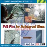 A strati vetro laminato libero di 6.38mm con la pellicola di colore PVB