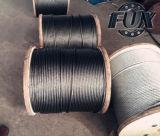 Ungalvanized и гальванизированная веревочка стального провода