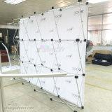 Impressão de Sublimação de Qualidade Stretch Reciclagem de tecido pop-up Backdrop banner Stand
