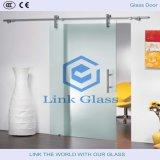 Porte en verre Tempered avec la glace acide d'Ethced et le verre à vitres dans Ce&CCC&ISO9001