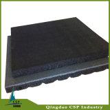25mmの厚さの適性部屋のためのゴム製床タイル