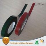 cinta echada a un lado doble verde y roja de 1m m del PE de la espuma