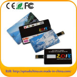 A venda por atacado personaliza a amostra livre de Drivefor do flash da movimentação da pena do cartão de crédito do logotipo (EC003)
