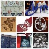 Jinan Cheap Jeans Fabric CO2 Laser Gravure Cutting Machinery Price