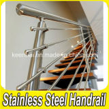 Indoor residenziale Stainless Steel Balcony Stair Handrail per Staircases