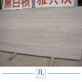 De opgepoetste/Marmeren Tegels van de Prijs van de Plak van de Korrel van China van het Hout Witte Houten/Houten Marmeren