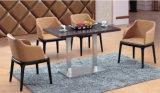 Leunstoel van uitstekende kwaliteit van het Frame van de Winkel van de Koffie van de Kantine van het Restaurant de Zachte Houten