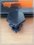 Forme de v de machine de découpage de meneau coupée pour le guichet et les portes d'UPVC