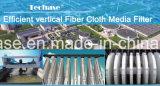 Los medios de comunicación de tela de fibra de filtro para eliminar el tc