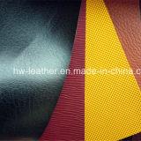 Geprägtes Farben-Änderung PU-Leder für Notizbuch-Deckel