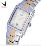 Quarz-Uhr-Stahlstreifen-Uhr-beiläufige ultradünne quadratische Uhr-Frauen der Iwtime Uhr-Frauen