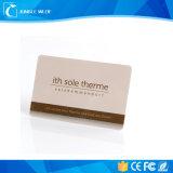 Comercio al por mayor inteligente sin contacto RFID de PVC de NFC para el pago de la tarjeta de ID.