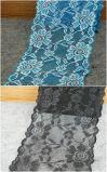 merletto elastico di alta qualità di 18cm per il reggiseno