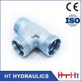 Adaptateurs hydrauliques filetés modifiés chauds de boyau de Bsp
