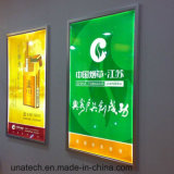 Mídia de publicidade interior Slim LED Snap Light Box Sign