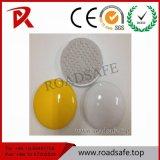 Vite prigioniera di ceramica rotonda bianca o gialla di Roadsafe della strada