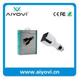 Impression faite sur commande 2 de logo dans 1 chargeur duel de véhicule d'épurateur d'air d'USB