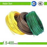 Fil électrique en cuivre étamé isolés sur le fil de câble en PVC
