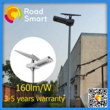 Parque Solar de alta potencia LED de luz de la calle con batería de litio