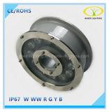 Indicatore luminoso caldo della fontana di vendite 12W IP68 LED con il corpo dell'acciaio inossidabile