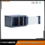 Fábrica 4u de China ele gabinete de vidro do server da porta