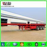 China 13m Flatbed Semi Aanhangwagen van de TriAs/48 voet Aanhangwagen van de Container van de Semi