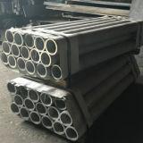 Extrusionado de aluminio 6061 T6 Tubo para procesos de mecanizado