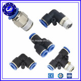 Garnitures pneumatiques de garnitures de desserrage rapide de garnitures pneumatiques droites d'air