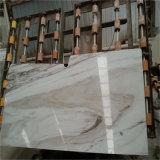 Mármore de veia de madeira de cristal, mármore de galáxia branca