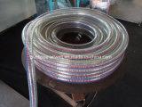 """Boyau spiralé industriel 1 """" 2 """" d'irrigation de l'eau de boyau de fil d'acier de PVC"""