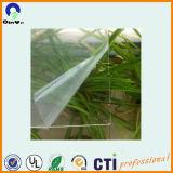 0,21mm-5mm impresión UV Hoja transparente de PVC rígido de plástico
