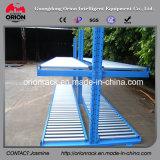 Lager-Stahlrollen-Bildschirmanzeige-Regal-Zahnstange