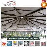 ガラス壁が付いているサーカスの大テントのテントおよび小さい音楽コンサートの購入のためのガラスドア