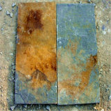 Ржавый камень культуры каменной стены шифера для сбывания