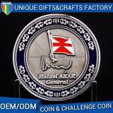 Vendita calda personalizzata dell'oro dell'argento del rame di sport della moneta antica del metallo