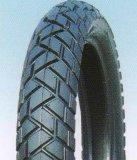 Preiswerter Motorrad-Gummireifen-Reifen und Gefäß (110/90-17)