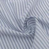100%년 면은 털실에 의하여 염색된 옥스포드 셔츠 직물을 줄무늬로 한다