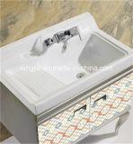 Module de salle de bains en gros blanc de Module faisant le coin de salle de bains de Module de salle de bains d'acier inoxydable (T-957)