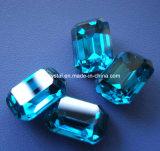 보석 만들기를 위한 장식적인 무연 8각형 수정같은 모조 다이아몬드