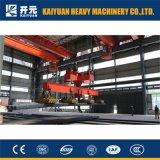 Schwerer anhebender 10 Tonnen-obenliegender Magnetkran für Fabrik