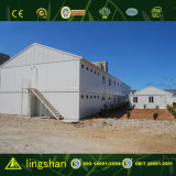Construction en acier préfabriquée moderne d'entrepôt