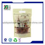 Gravüre-Drucken-Fastfood- Beutel-Beutel für Appel mit Reißverschluss-Verschluss