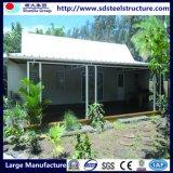 계획을%s 가진 조립식 녹색 집 모듈방식의 조립 주택
