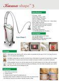 Тело потери веса уменьшения Cellulite формы Srv-106 Kuma Slimming машина при одобренный CE
