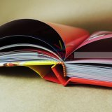 Impression à niveau élevé de livre de livre À couverture dure de grande de photographie impression de livre